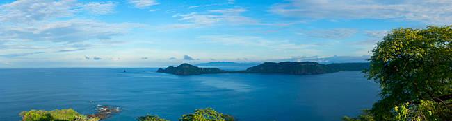 Island in Pacific ocean, La Punta Papagayo, Gulf Of Papagayo, Guanacaste, Costa Rica
