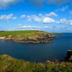 Dunbrattan Cove on the Copper Coast, County Waterford, Ireland