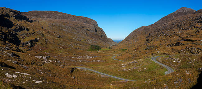 The Gap of Dunloe in the Killarney National Park, County Kerry, Ireland