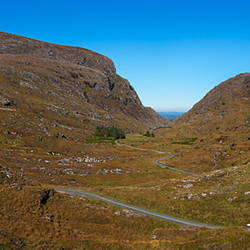 The Gap of Dunloe in the Killarney National Park, County Kerry, Ireland