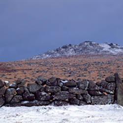 Rock formations, Rippon Tor, Dartmoor, Devon, England