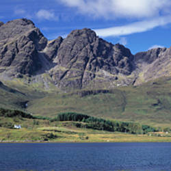 Hills, Cuillins, Loch Slapin, Isle Of Skye, Scotland