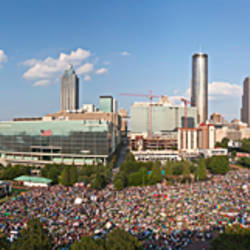 Fourth of July Festival, Centennial Olympic Park, Atlanta, Georgia, USA