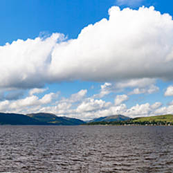 Clouds over the ocean, Firth Of Clyde, Gourock, Argyll, Argyll And Bute, Scotland