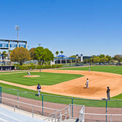 Hillsborough Community College Hawks Baseball Field With George M Steinbrenner In The Background