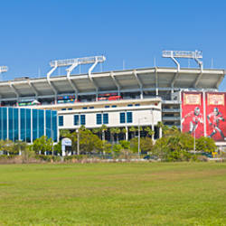 Raymond James Stadium home to the NFL Tampa Bay Buccaneers and University of South Florida Bulls in Tampa, Florida, USA