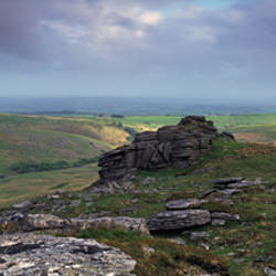 Black tor near Meldon Reservoir, Dartmoor, Devon, England