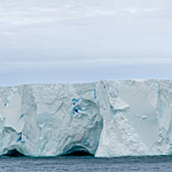 A22A one of the largest iceberg floating in the ocean between Antarctica and South America