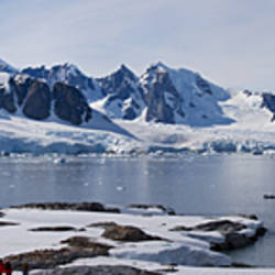 Mountains viewed from Petermann Island, Antarctic Peninsula, Antarctica