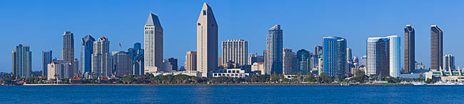 City at the waterfront, San Diego, California, USA 2010