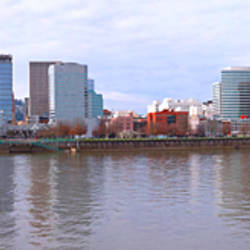 Buildings at the waterfront, Portland, Multnomah County, Oregon, USA 2010