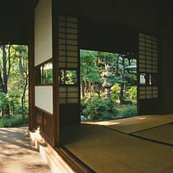 Facade of a traditional Japanese house, Ebisu, Shibuya, Tokyo Prefecture, Kanto Region, Honshu, Japan
