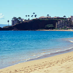 Hotel on the beach, Black Rock Hotel, Maui, Hawaii, USA