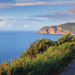 Coast path, Foreland Point, Lynton, North Devon, Devon, England