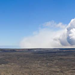 Volcano erupting, Hawaii Volcanoes National Park, Big Island, Hawaii, USA