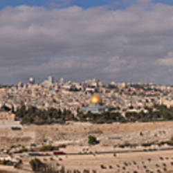 Cityscape from the Mount of Olives, Jerusalem, Israel 2010