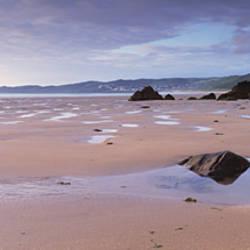 Beach, Putsborough, North Devon, Devon, England