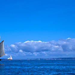 Tall ship regatta, Baie De Douarnenez, Finistere, Brittany, France