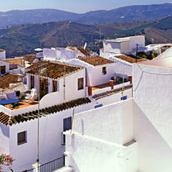 Houses in a town, Frigiliana, Pueblos Blancos, Malaga Province, Andalusia, Spain