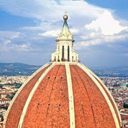 High section view of a church, Duomo Santa Maria Del Fiore, Florence, Tuscany, Italy