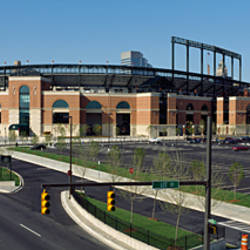 Baseball park in a city, Oriole Park at Camden Yards, Baltimore, Maryland, USA