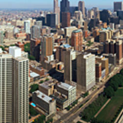 360 degree view of a city, Chicago, Cook County, Illinois, USA