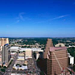 Aerial view of a city, Austin, Travis county, Texas, USA