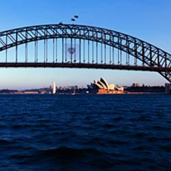 Bridge across the sea, Sydney Harbor Bridge, McMahons Point, Sydney Harbor, Sydney, New South Wales, Australia