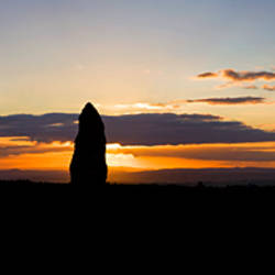 Standing Stone, Monavullagh Mountains, County Waterford, Ireland