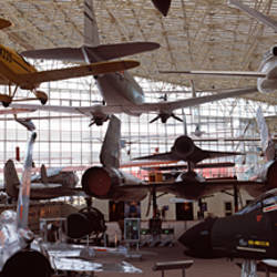 Interiors of a museum, Museum of Flight, Seattle, Washington State, USA