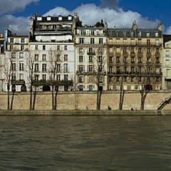 Buildings at the waterfront, Notre Dame De Paris, Seine River, Paris, Ile-De-France, France