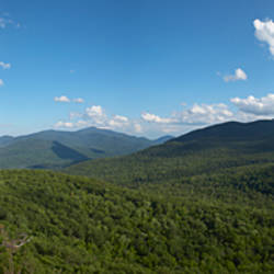 Clouds over a mountain range, Adirondack Mountains, New York State, USA