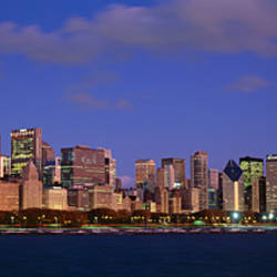 Buildings at the waterfront, Lake Michigan, Chicago, Illinois, USA