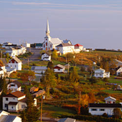 Saint Anne des Monts, Gaspe Peninsula, Quebec, Canada