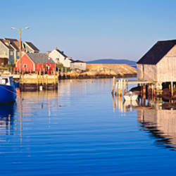 Fishing village of Peggy's Cove, Nova Scotia, Canada