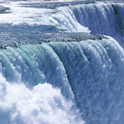Waterfall, Niagara Falls, Niagara River, New York State, USA