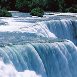 Waterfall, Niagara Falls, Niagara River, New York State, USA