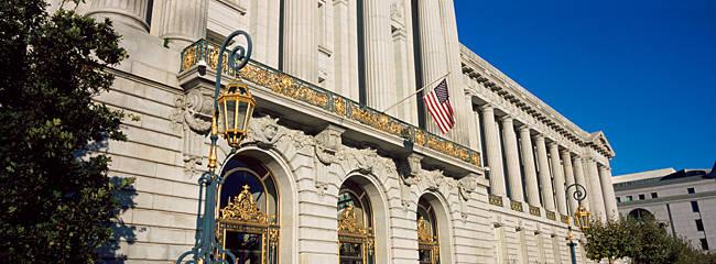 Government building in a city, City Hall Of San Francisco, Civic Center, San Francisco, California, USA