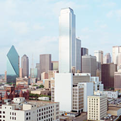 Buildings in a city, Dallas, Texas, USA