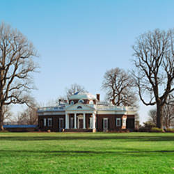 Home of Thomas Jefferson, Monticello, Charlottesville, Virginia, USA