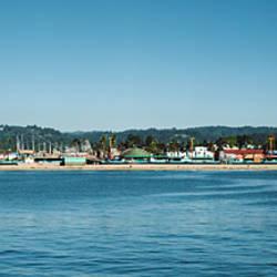 Amusement park at the waterfront, Santa Cruz Boardwalk, Santa Cruz, Santa Cruz County, California, USA