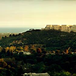 High angle view of a city, Santa Monica, Los Angeles County, California, USA