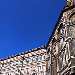 Low angle view of a cathedral, Duomo Santa Maria Del Fiore, Florence, Tuscany, Italy