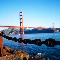 Bridge across the sea, Golden Gate Bridge, San Francisco, California, USA