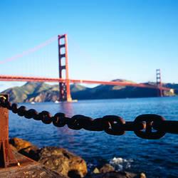 Bridge across the sea, Golden Gate Bridge, San Francisco, California, USA