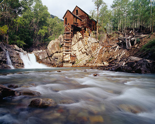 Old Saw Mill, Marble, Colorado, USA