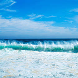 Crashing waves at Isla Navadad Resort in Manzanillo, Colima, Mexico