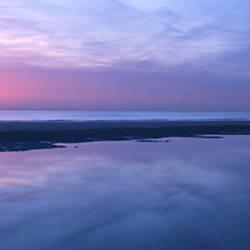 Sunrise over the sea, Nordwijk, Netherlands