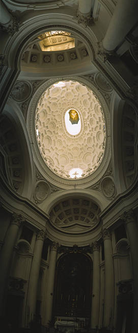 Interiors of a chapel, Rome, Italy