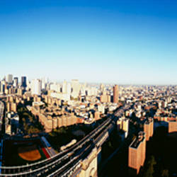 Aerial view of a cityscape, Manhattan, New York City, New York State, USA